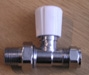 15MM STRAIGHT RADIATOR VALVE LS/WH