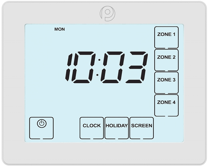 Polypipe | 4 Channel Time Clock | UFHTIME4W