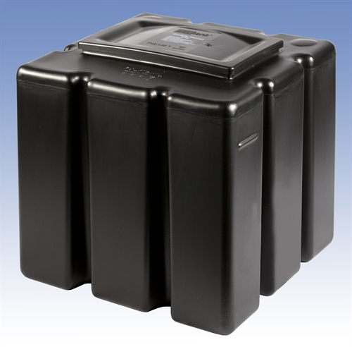Polytank 20 Gallon / 91 Litre Primary Expansion Cistern (20-20-20) Includes PT2 Fittings Kit
