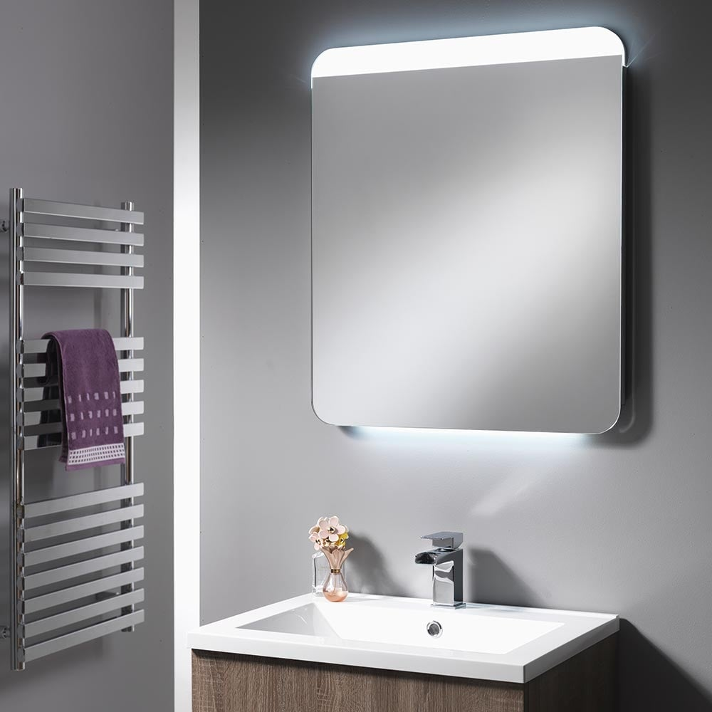mirror with integrated lighting. Cornell Mirror With Integrated LED Light Strips - 600mm \u0026 1200mm Lighting I
