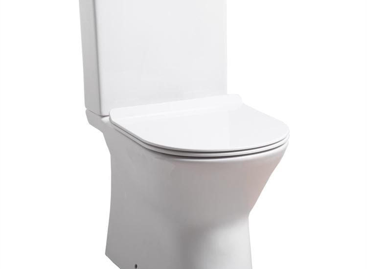 Venice Rimless WC including Soft Close Seat