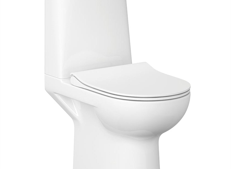 Street Fusion Rimless WC including Soft Close Seat