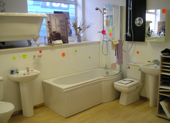 bathroom showrooms Kent