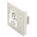 JG Aura Wireless Thermostat - 230v White JGSTATW2W