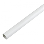 Polypipe Overflow Pipe 3 Metres Solvent White Push-Fit - NS43