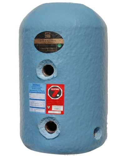 Hot Water Copper Cylinder | 900mmx450mm Economy 7 Indirect | Grade 3 ...