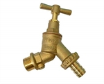 12 Hose Union Bib Cock + Double Check Valve