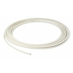 WHITE COATED COPPER TUBE 10MM X 25 METRE COIL