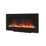 Be Modern Amari 38 FS or WM 2kW Electric Fire Black Glass Fascia-V-148768