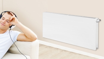 Horizontal Eco Flat Radiators 500 x 1600 Single Convector