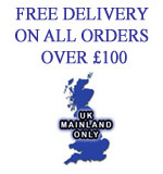 Free Delivery on Orders Over £100 Ex Vat