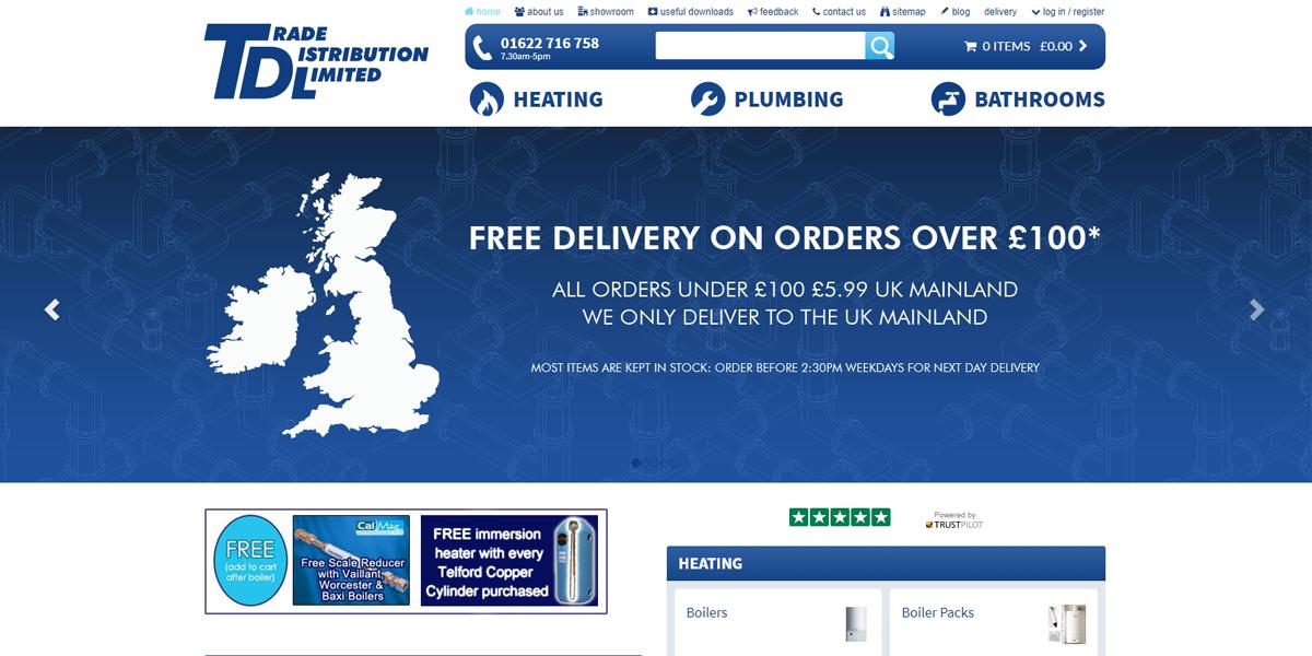 TDL Online - Bathroom & Plumbing supplies