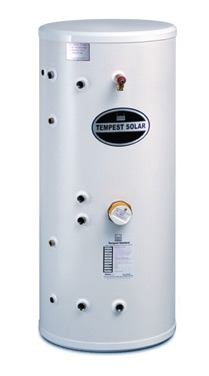 Tempest Twin Coil Solar 300LTR Unvented Indirect Cylinder