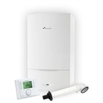 Worcester Greenstar Combination Boiler 29CDi Classic ERP Pack - Inc Boiler + Horizontal Flue Kit + Comfort Plug-In Programmer
