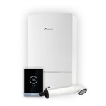 Worcester Greenstar 42CDi Classic Combi Boiler ERP Pack Inc Boiler + Horizontal Flue Kit + Worcester Wave Smart Thermostat