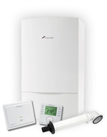 Worcester Greenstar Combination Boiler 29CDi Classic ERP Pack - Inc Boiler + Horizontal Flue Kit + Comfort II RF Wireless Programmer