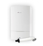 Worcester Greenstar Combination Boiler 29CDi Classic ERP Pack - Inc Boiler + Horizontal Flue Kit