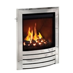 Bemodern Titanium High Eff Deepline Gas FireDesign Trim Chrome-170399