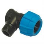 Polyfast 25mm X 34 Male Iron Elbow 42325