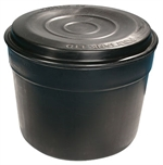 Polytank 50 Gallon  227 Litre Circular Cold Water Storage Tank 34x27 Includes PT2B Fittings Kit